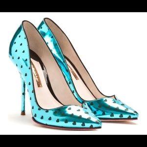 Sophia Webster met Alice heels with hearts 6.5